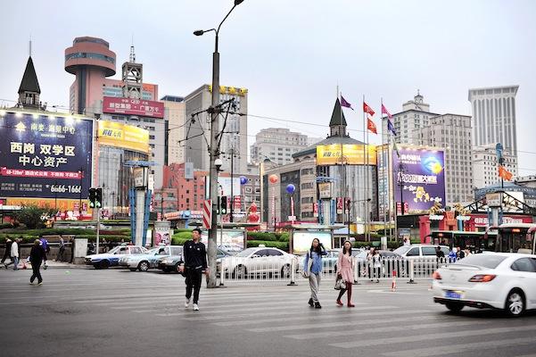 Dalian china in Living