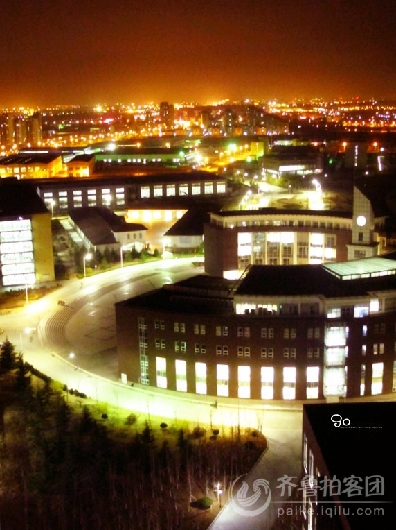 campus night view